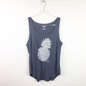 • OLD NAVY • Gray Pineapple Top